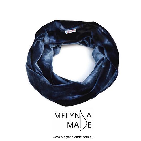 MelyndaMade Handmade Ladies Infinity Scarf Stretch Velvet