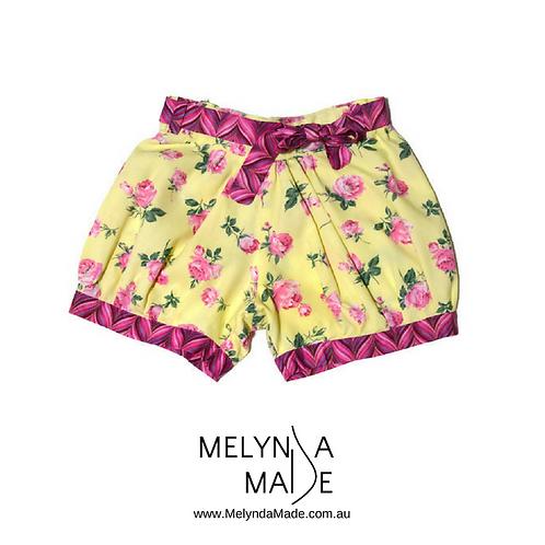 MelyndaMAde Handmade Childrens Clothes Floral Blue JAys