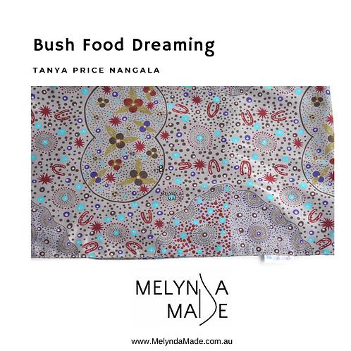 MelyndaMade Handmade Indigenous Ladies Infinity Scarf Bush Food Dreaming