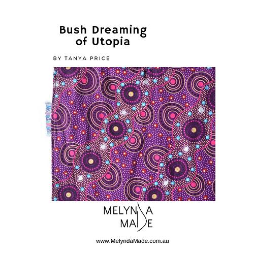 MelyndaMade Handmade Indigenous Ladies Infinity Scarf Bush Dreamings Of Utopia