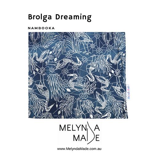 MelyndaMade Handmade Indigenous Ladies Infinity Scarf Brolga Dreaming by Nambooka