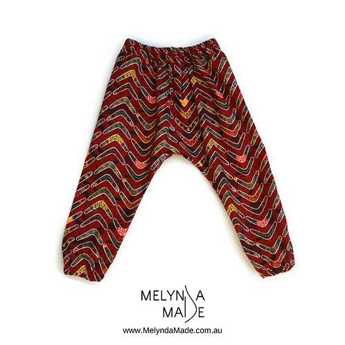 MelyndaMade Handmade Childrens Clothes Harem Pants