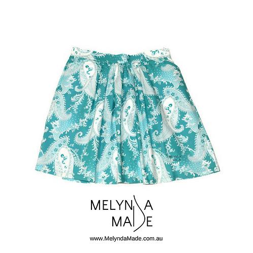 MelyndaMade Handmade Ladies Skirt Flat Front Verna Mosquera