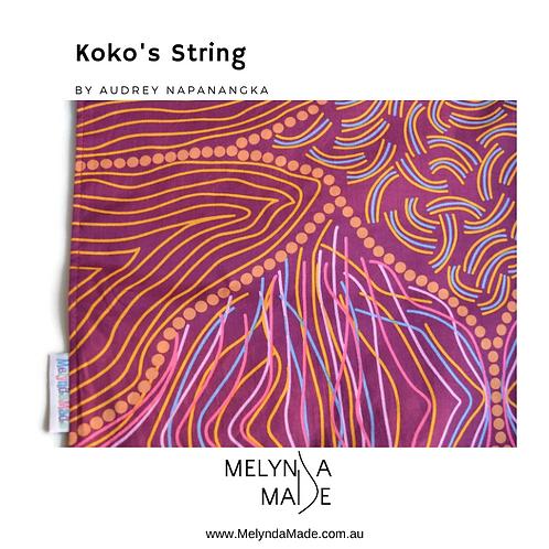 MelyndaMade Handmade Indigenous Ladies Scarf KoKo's String