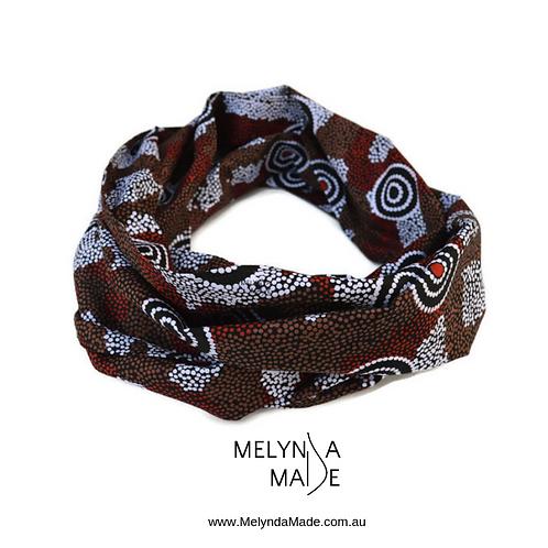 MelyndaMade Handmade Indigenous Infinity Scarf Amicitia