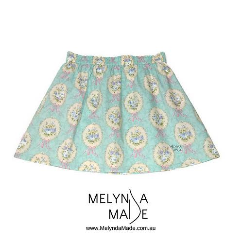 MelyndaMade Handmade Ladies Skirt Festival Rococo and Sweet