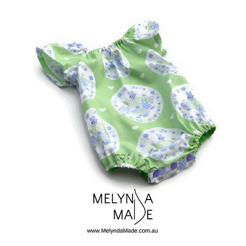 MelyndaMade Handmade Seaside Playsuit Sz 00