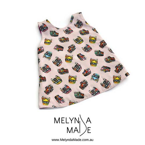 MelyndaMade Handmade Reversible Pinny Size 1