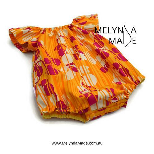 MelyndaMade Handmade Seaside Playsuit Size 00