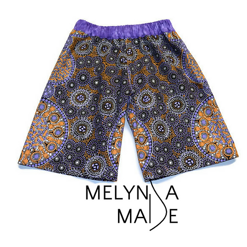 MelyndaMade Handmade Handmade Childrens Clothes Indigenous Shorts FLAR