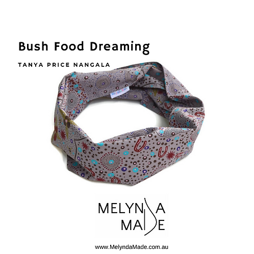 Adult Infinity Scarf - Bush Food Dreaming