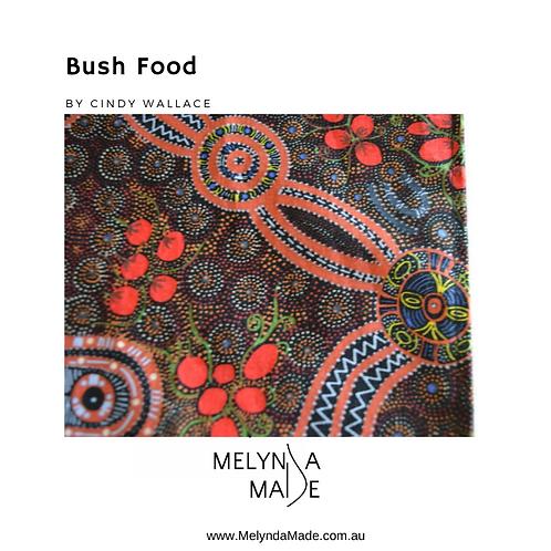 MelyndaMade Handmade Indigenous Ladies Infinity Scarf Bush Food