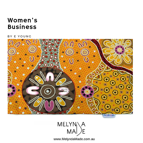 MelyndaMade Handmade Indigenous Fabric Women's Business