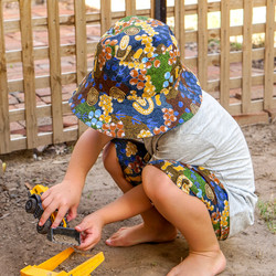MelyndaMade Handmade Childrens  Clothes Indigenous Short Bush Plum Dreaming