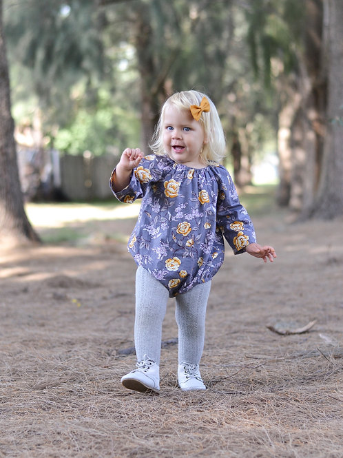 MelyndaMade Handmade Baby Clothes Seaside Playsuit Imane