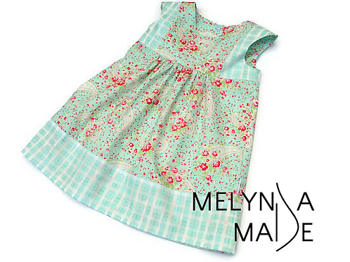 MelyndaMade Handmade Play Group Dress Size 4
