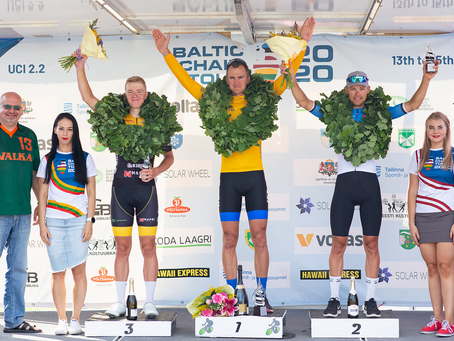 Gert Jõeäär won the Baltic Chain Tour, Rait Ärm 3rd