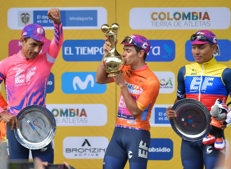 EF Pro Cycling dominated in Colombia, Lukševics 54th