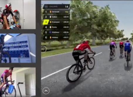 Third week: Van Avermaet won the virtual Tour of Flanders