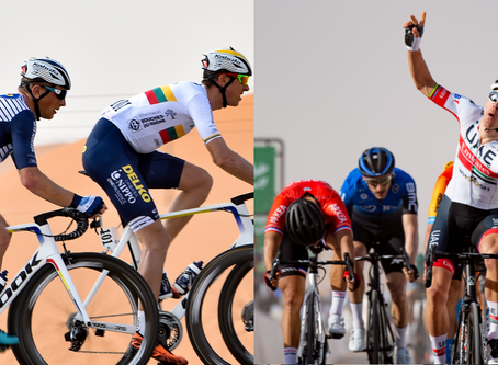 Lithuanian duo performing well in the Saudi Tour, Rui Costa the winner of the first stage