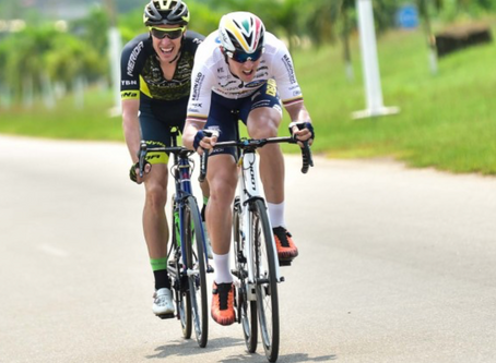 Ramunas Navardauskas finished 10th in Gabon