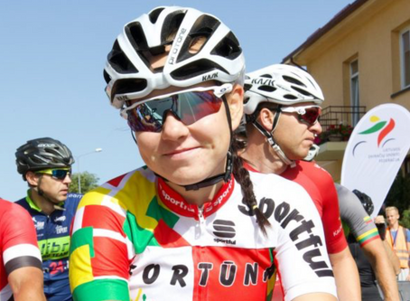 Akvile Gedraityte joins World Cycling Center