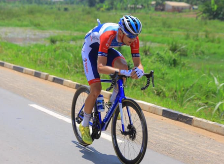 Taaramäe finished Tour of Rwanda with a solo attack & won the climbers classification