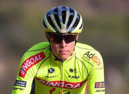 Nõmmela started his season in Murcia riding like a cyclosportive
