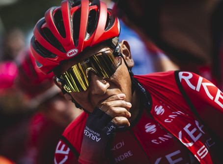 Quintana took the lead of the tour in the Var & Alpes Maritimes, Kangert 12th