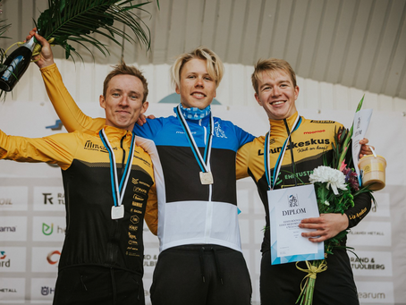 Cycling Tartu domineeris cyclo-crossi EMV'l