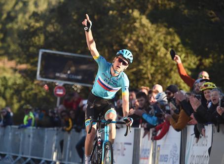 Alexandre Vlasov won the 2nd stage of the Tour de la Provence, Kangert 24th