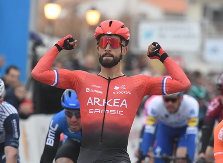 Nacer Bouhanni won the opener of the Tour de la Provence