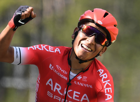 Quintana won the last stage of the Paris-Nice, Kangert 8th of the stage and in the GC