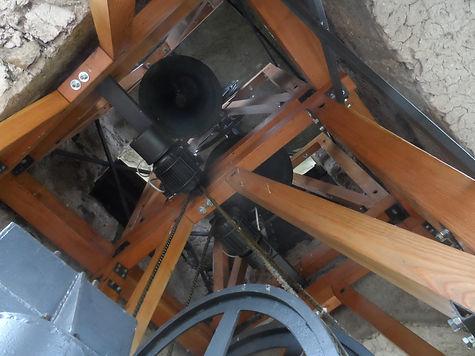 strutture 09 castello campanario in legn