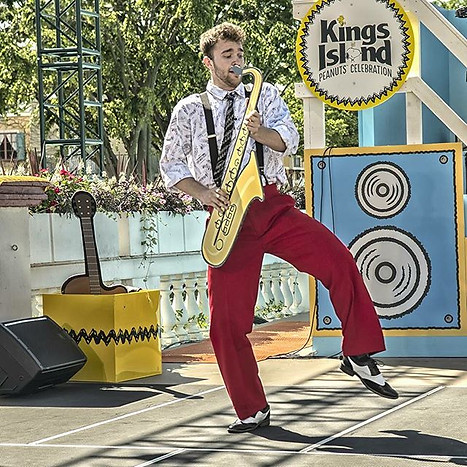 Music Goes Round and Round, Kings Island