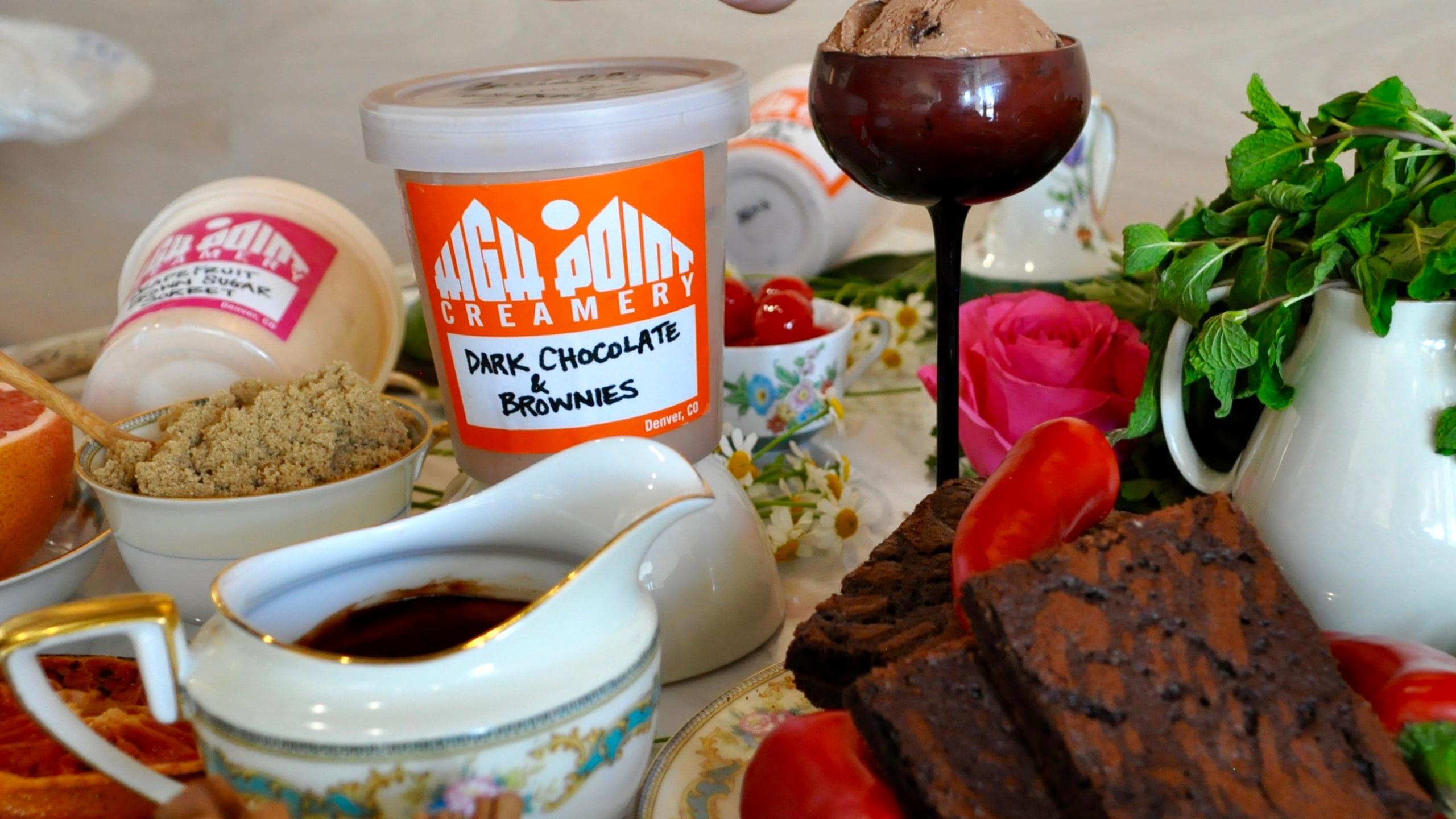 Dark Chocolate & Brownies