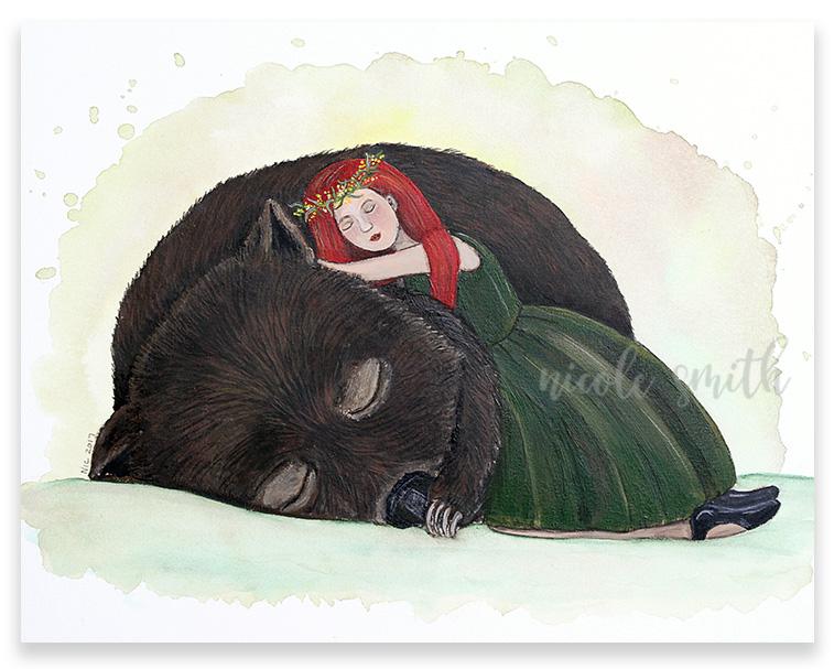 Wombat Girl