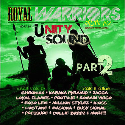 Royal Warriors 2 (Culture Mix) CD $4.99 / DL $2.99