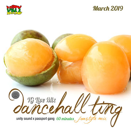 [Single-Track Download] Dancehall Ting v5 - IG Live Mix - March 2019