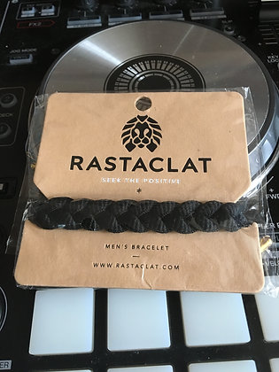 RastaClat Bracelet (One Size) Onyx II: Black