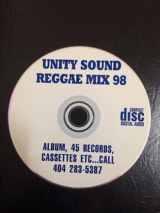 Reggae Mix 1998 (Dhall Mix) CD $4.99 / DL $2.99