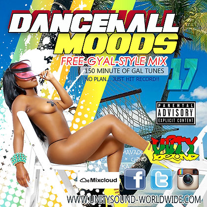 Dancehall Mood 17 (DH Mix) CD $5.99 or DL $2.99