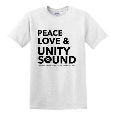 Peace Love & Unity Sound (White)