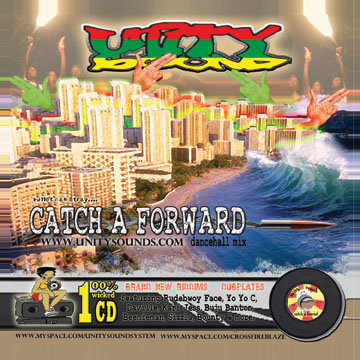 Catch a Forward (Dhall Mix) CD $3.99 / DL $2.99