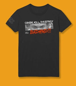 Crush Kill Destroy Badmind (Black)