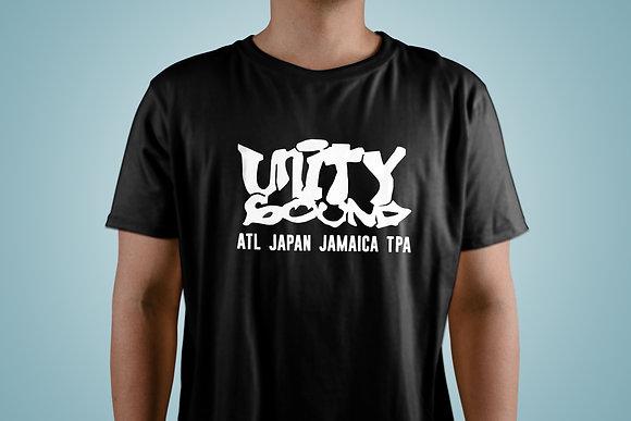 Unity Sound - White on Black T-Shirt