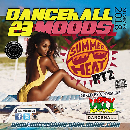 Dancehall Mood 23 (DH Mix) CD $5.99 or DL $2.99