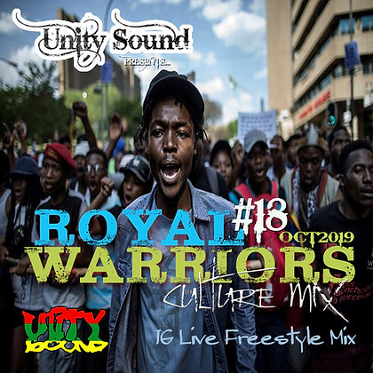 Royal Warriors v18 (Culture) $5.99 CD / $2.99 DL