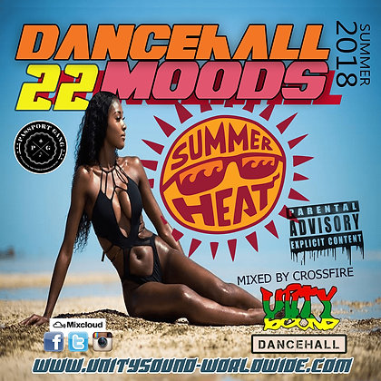 Dancehall Mood 22 (DH Mix) CD $5.99 or DL $2.99