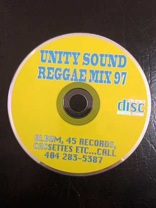 Reggae Mix 1997 (Dhall Mix) CD $4.99 / DL $2.99